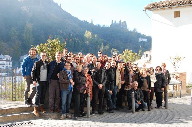 Participantes inmersión lingüística